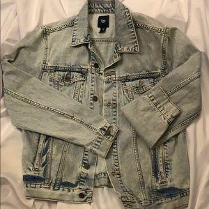 Acid-Wash Denim Jacket - GAP Brand Men's Medium